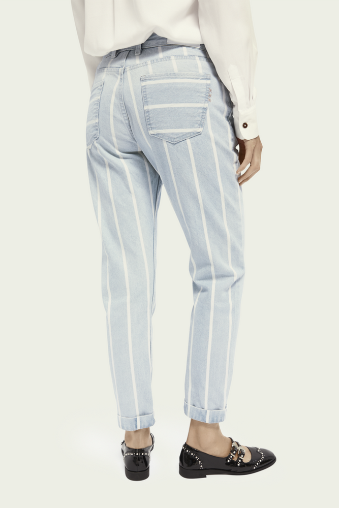 Scotch & Soda - Seasonal Bandit - Indigo Stripe - Back