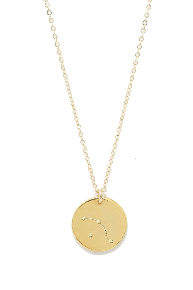 Able - Aries Constellation Necklace - Gold
