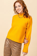CORI MOCK SWEATER