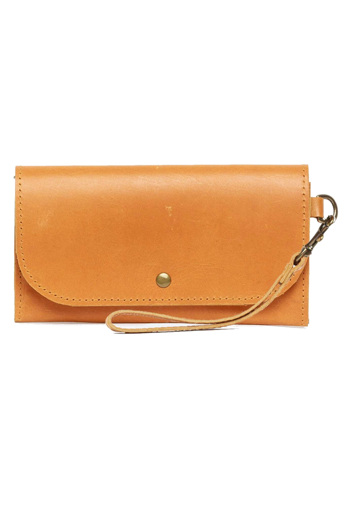 Able - Mare Phone Wallet - Cognac