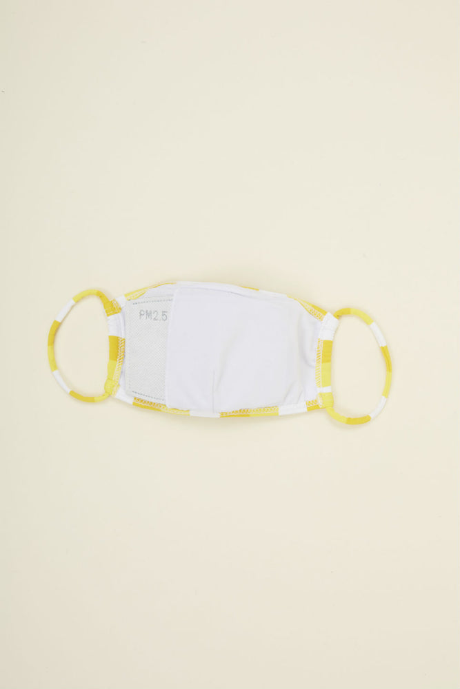 FACE MASK Banana Beach Stripe