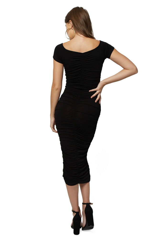 Clayton - Jaylinn Dress - Black - Back