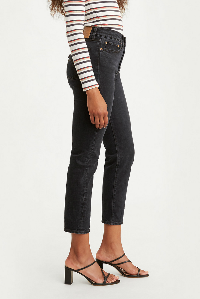 Levis - Wedgie Icon Fit - Wild Bunch Black - Back