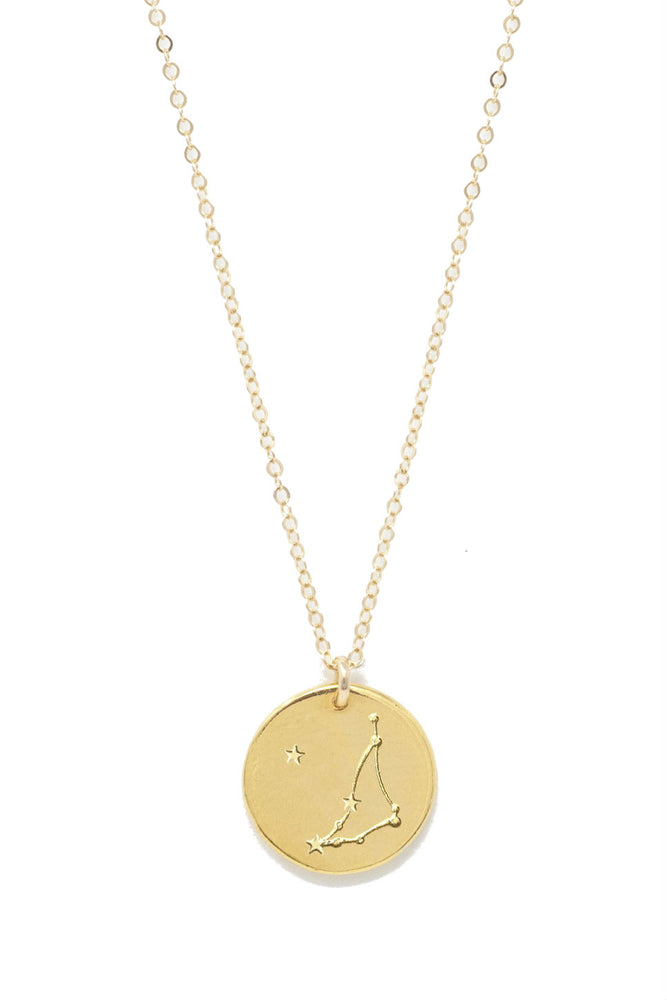 Able - Capricorn Constellation Necklace  - Gold