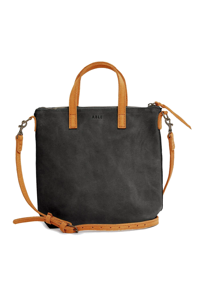 ABERA COMMUTER - BLACK/COGNAC