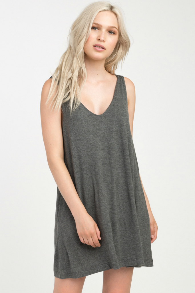 RVCA - Chances - Charcoal - Front