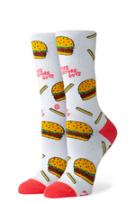 Stance - Fries B4 Guys Crew - White