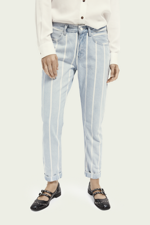Scotch & Soda - Seasonal Bandit - Indigo Stripe - Front