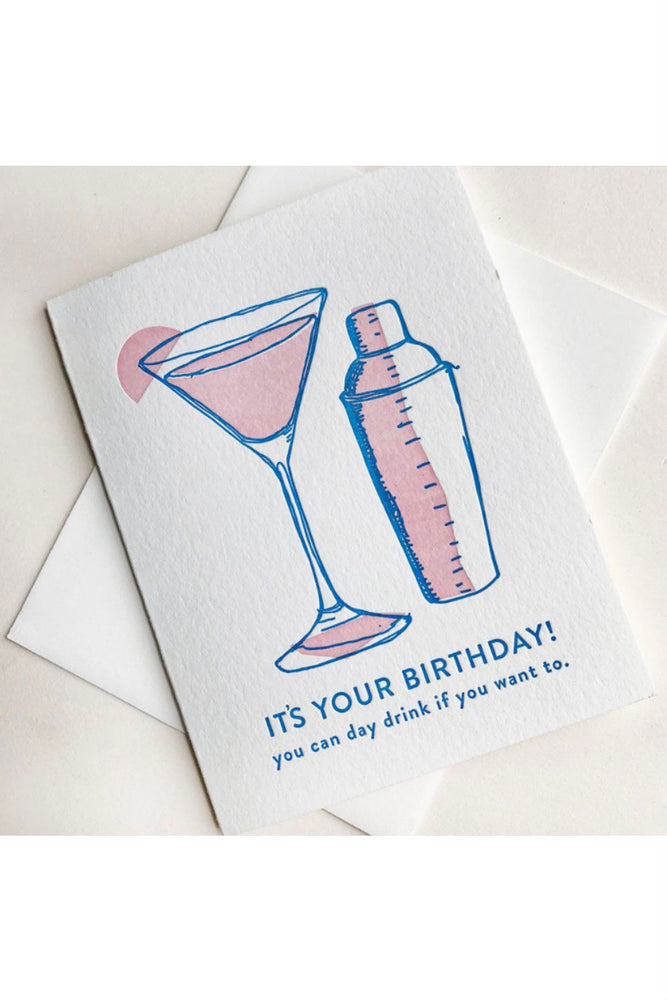 DAY DRINK CARD