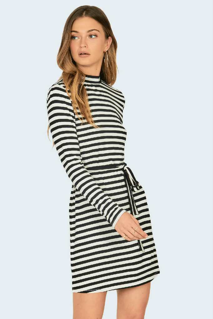 Amuse Society - Frolic Dress - Stripe - Side