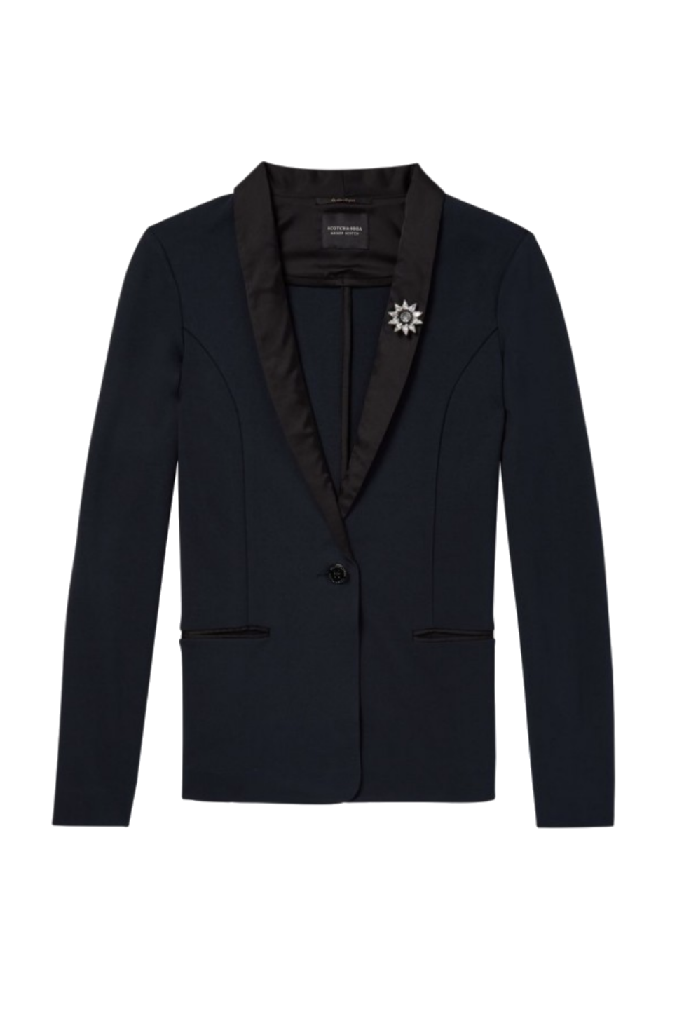 Scotch and Soda - Jersey Blazer - Black