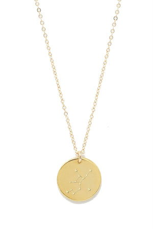 Able - Virgo Constellation Necklace - Gold