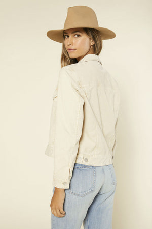 Outerknown - Lou Cord Trucker - Wheat - Back