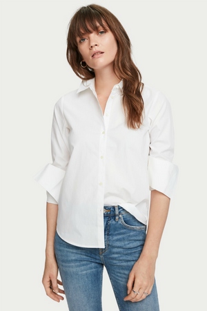 CLEAN COTTON SHIRT