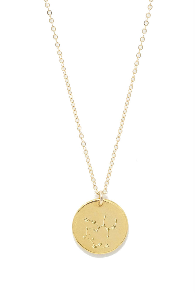 Able - Sagittarius Constellation Necklace - Gold