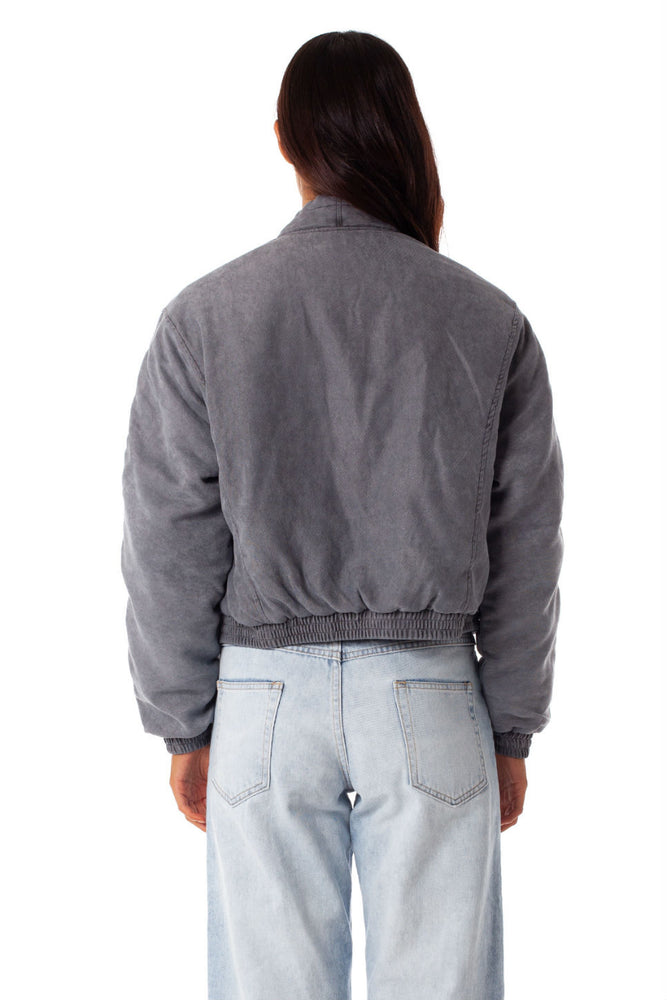 Rhythm - Palermo Jacket - Charcoal - Back