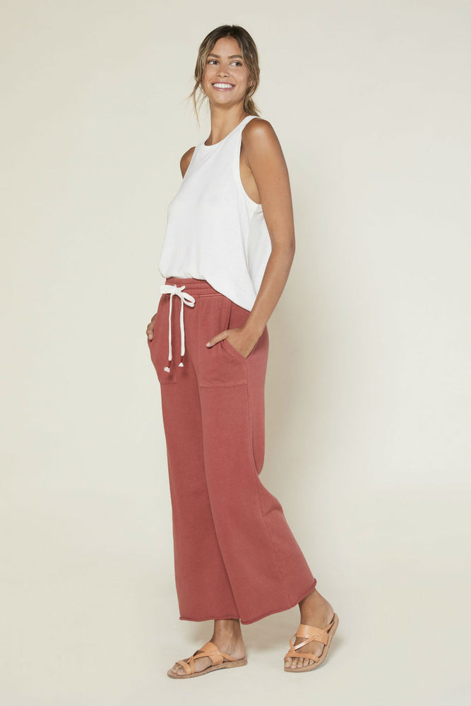 Outerknown - Luella Sweatpant - Henna - Back