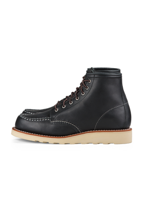 Red Wing Heritage - 6 Inch Moc Toe - Black - Side
