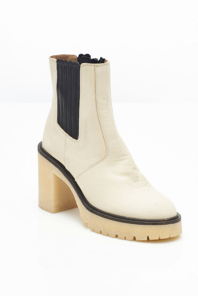 JAMES CHELSEA BOOT - WHITE