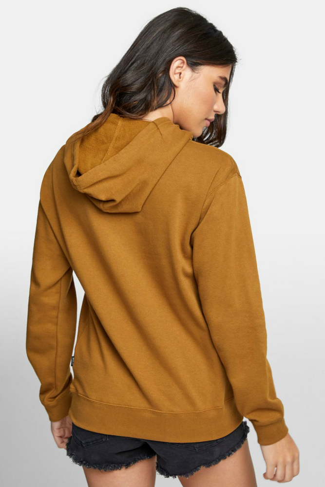 RVCA - Patch Seal PO Hoodie - Antique Bronze - Back
