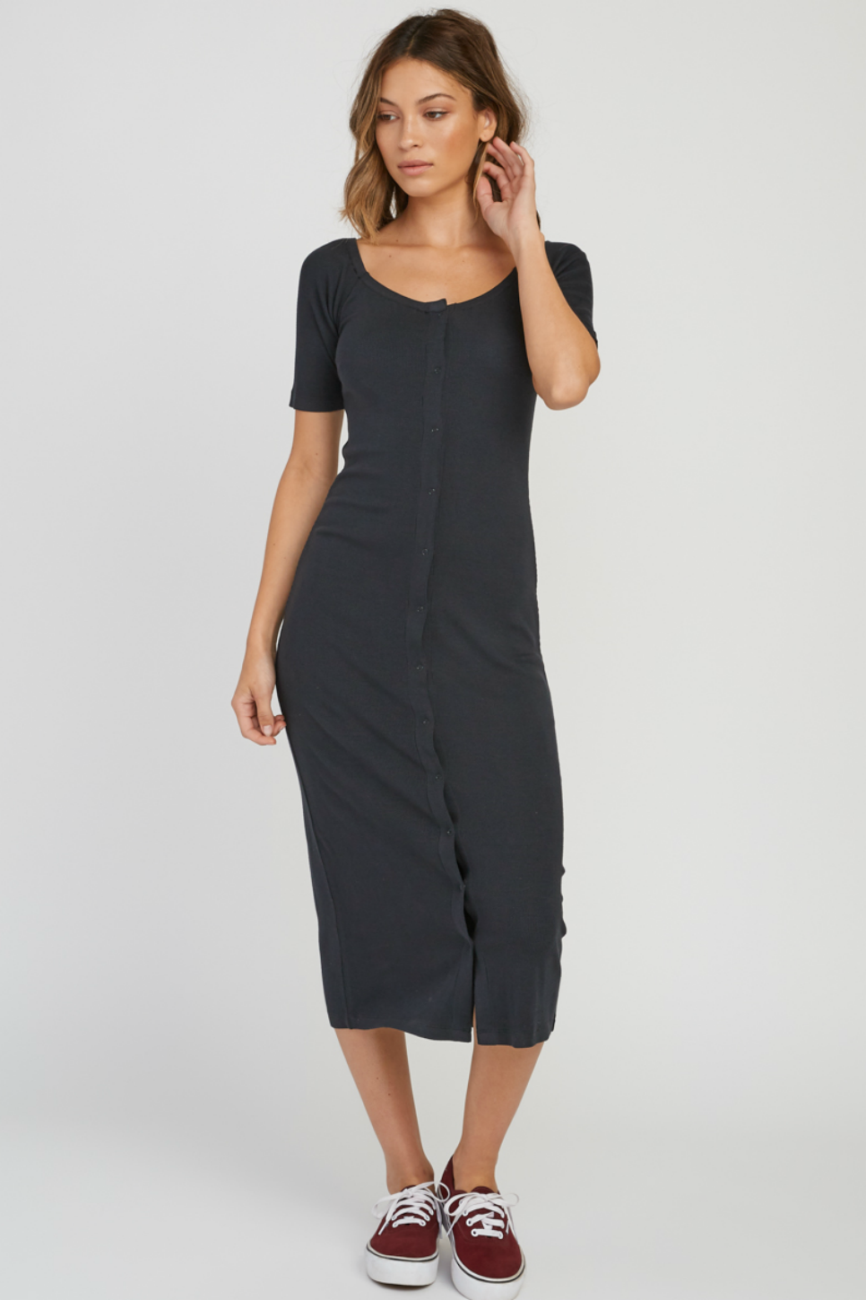RVCA - Dia Dress - Black - Front