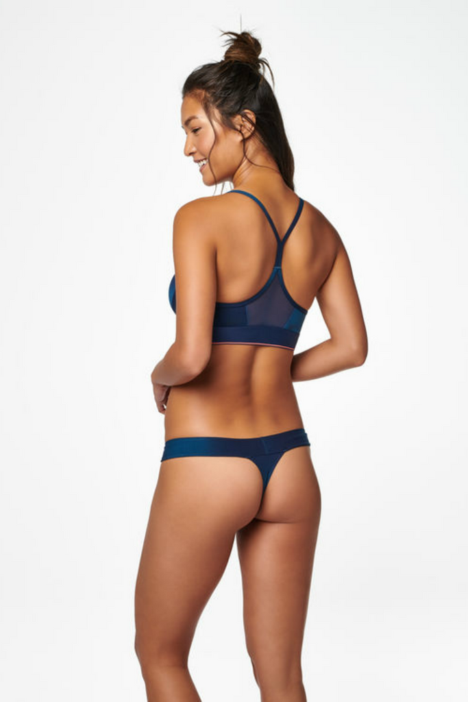 Stance - Wide Side Thong Cotton - Teal - Back