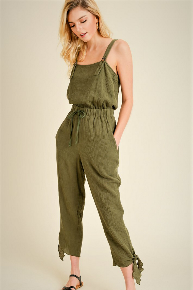 JR BUTTON JUMPSUIT