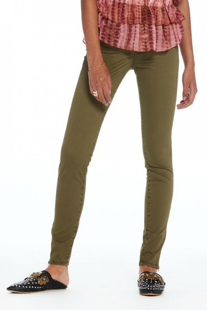Scotch and Soda - La Bohemienne Skinny - Army