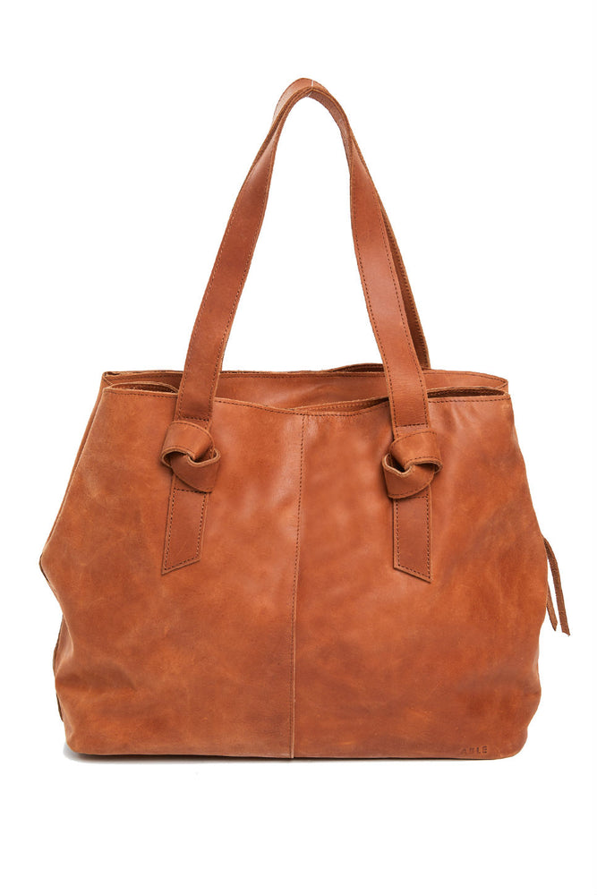 Able - Rachel Utility Bag - Whiskey - Inside