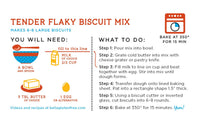 Bella Gluten-Free Tender Flaky Biscuit Mix, Case of 6