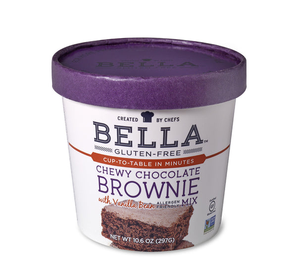 Bella Gluten-Free Chewy Chocolate Brownie Mix, Case of 6