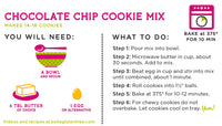 Bella Gluten-Free Chocolate Chip Cookie Mix, Case of 6