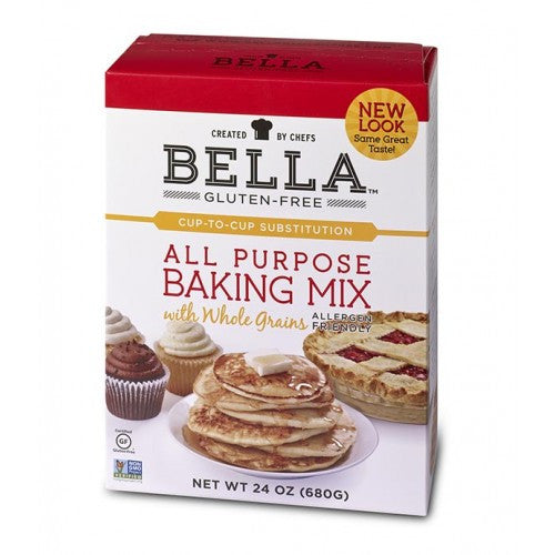 Bella Gluten-Free All Purpose Baking Mix, 24oz - Case of 4