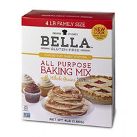 Bella Gluten-Free All Purpose Baking Mix, 24lbs Bulk Size - Case of 6