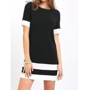 Chinazim Shift Dress 2-StyleStation