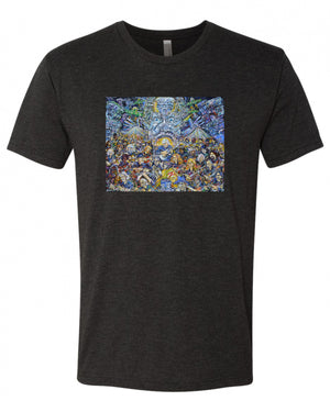 Bruce's Zambi Army Men's Next Level Triblend Tee