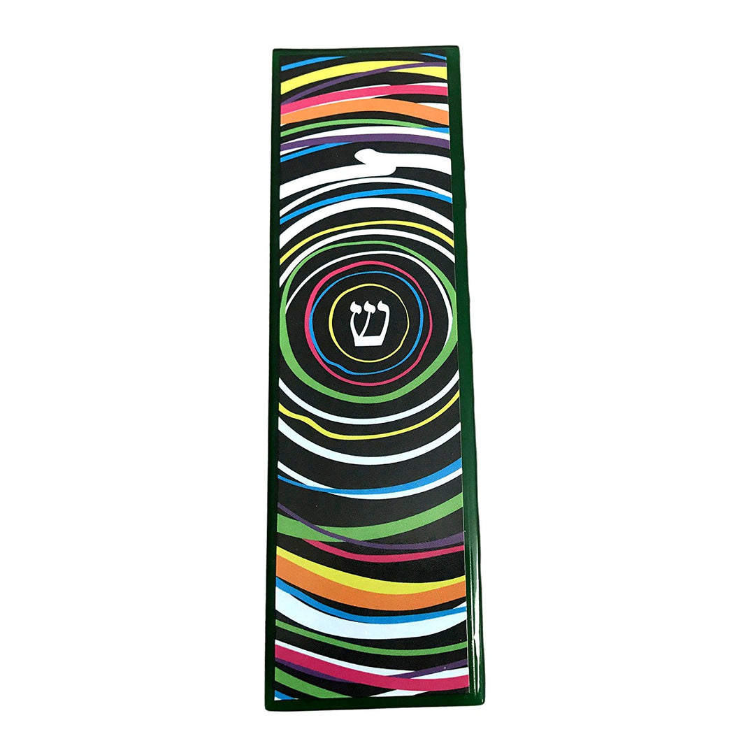 Infinity Art Glass Mezuzah