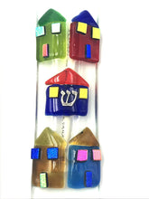 Art Glass Houses Mezuzah