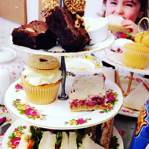 afternoon tea wrexham emzcakes