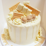 White Chocolate Overload Cake *Cake Of The Month*