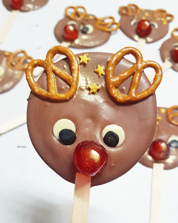 Rudolf Chocolate Lollypop