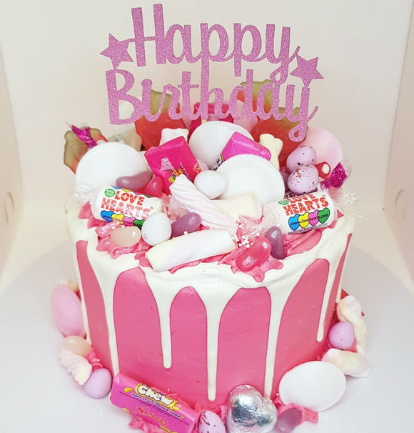 Pink Sweetie Drip Cake *Cake Of The Month*