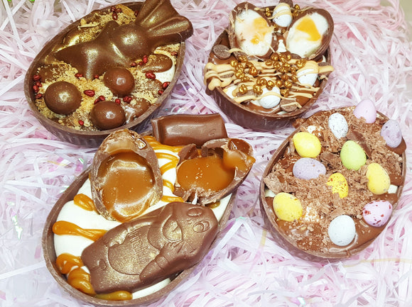 Cheesecake Easter Eggs Box of 4