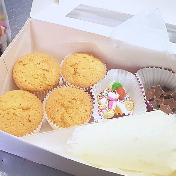 Decorate Your Own Cupcake Box