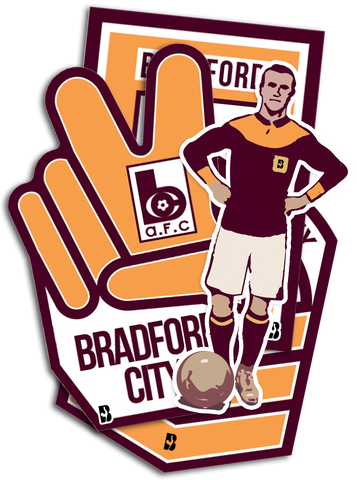 Bantams Sticker Set - Limited Edition of 100