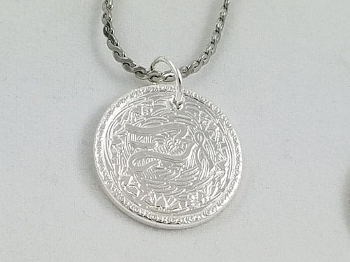 Charity~ Dove Nibble Charm with Polished Finish