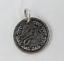 Nibble Charms- sold individually with no necklace- Dove Antiqued finish