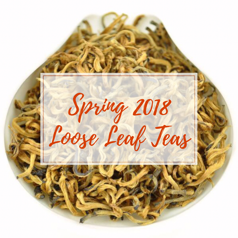 Spring 2018 Loose Leaf Teas