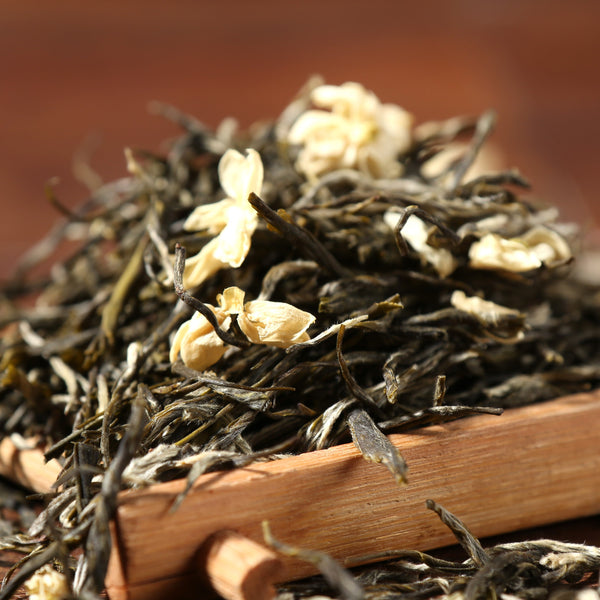 "Fuding ""Yin Hao"" Jasmine Flowers and Green Tea"