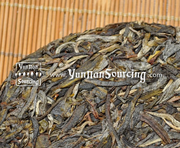 "2010 Yunnan Sourcing ""Bang Dong Village"" Raw Wild Arbor Pu-erh Tea Cake of Mengku"